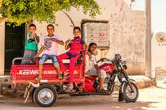 Riders (Anthony Gehin) Tags: rider boys smile mecredec mercedes four egypt