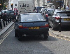 1986 Renault 11 Broadway (occama) Tags: d178ltt renault 11 broadway 1986 old blue french cornwall uk