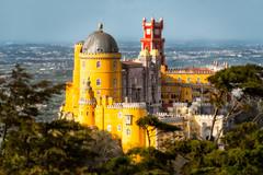 Pena Palace | Sintra Mountains, Portugal (NicoTrinkhaus) Tags: palace castle portugal mountains penapalace sintramountains paláciodapena unescoworldheritagesite unesco architecture romanticism
