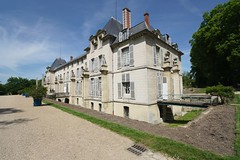 Chateau Malmaison moat (jozioau) Tags: variosonnart281635 chateau malmaison napoleon josephine moat