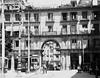Old Madrid: Plaza Mayor (sftrajan) Tags: spain tranvia streetcar tram plaza oldmadrid plazamayor madrid españa antaño