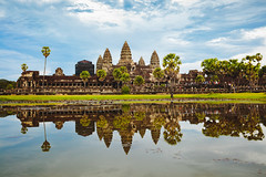 Angkor Wat, Siem Reap Cambodia (Patrick Foto ;)) Tags: ancient angkor architecture asia asian buddha buddhism building cambodia cambodian castle exterior face heritage hindu hinduism khmer lake landmark lotus mekong monument old palm raider reap reflection religion religious rock ruin shiva siem site sky stone ta temple thailand thom tomb tourism tower travel tree unesco wat water wisdom world krongsiemreap siemreapprovince kh
