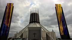 Liverpool Metropolitan Cathedral  UK. (James Holme) Tags: liverpoolmetropolitancathedral liverpool uk church nokia nokialumia930 mobilephotography mobilephone cellphone merseyside