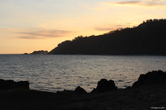 Manapany-les-Bains (philippeguillot21) Tags: île island rocher rock manapany saintjoseph petiteîle anse baie sunset crépuscule reunion france outremer indianocean afrique pixelistes canon