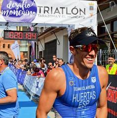 David Huertas Campeón Aragón Triatlón Clasificatorio Tarazona 20