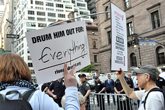 everything (greenelent) Tags: notrump protest demonstration riseandresist streets people activists nyc newyork