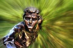 (ojaipatrick) Tags: statue photoshop hdr photomatix explorefrontpage