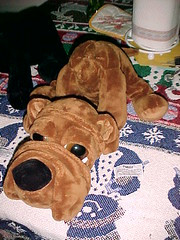 Blog Post: Time to remove your puppy's head! (Elly_Leaverton) Tags: project puppy puppet marionette