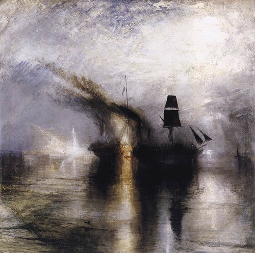 W.Turner-Burial at Sea