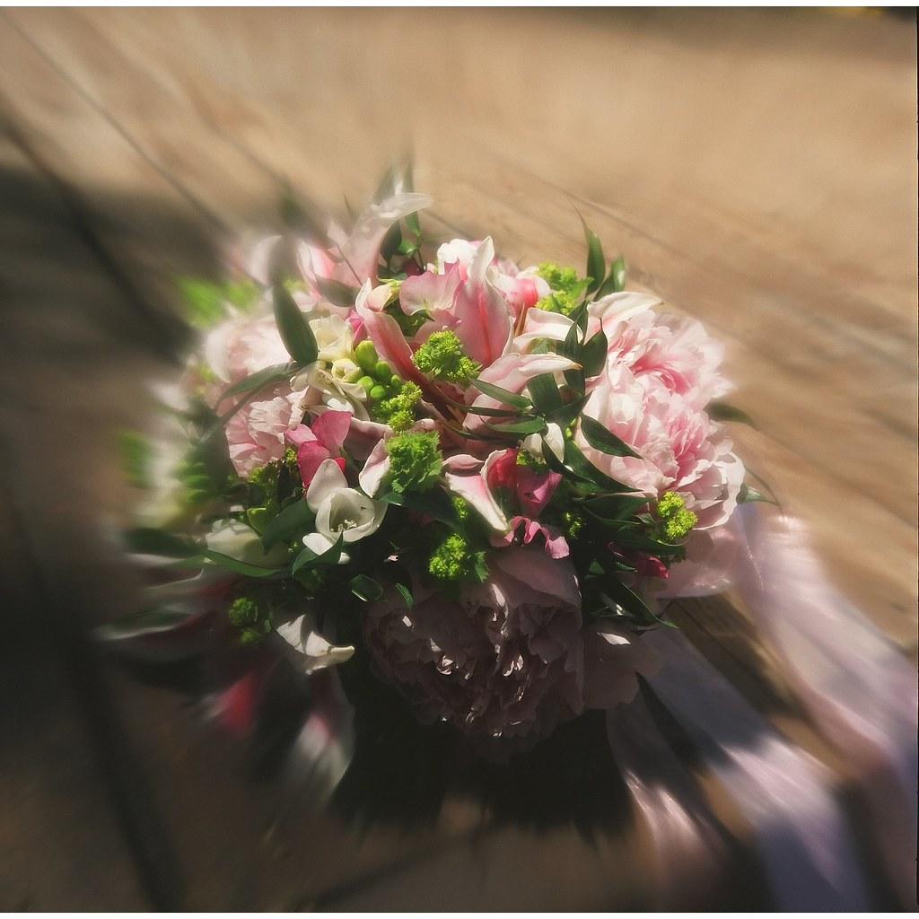Tanya's Wedding Bouquet