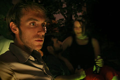 TMWDPE (sgoralnick) Tags: party backyard patrick bbq stare themostwelldocumentedpartyever