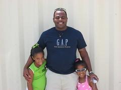 Sean G and the kiddies... (BahamaPapa) Tags: breakfast with sean gardiner