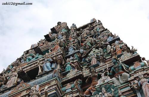 Kuil Hindu di Kuala Lumpur by zuki12.