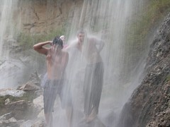 freezing waterfall (swazjamma) Tags: alyemen