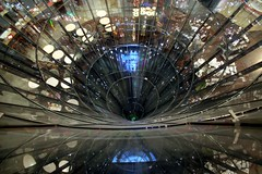 Spiral Descent (Heaven`s Gate (John)) Tags: vortex berlin art glass beautiful retail architecture wow shopping germany geotagged spiral amazing descent stunning shops atrium friedrichstrasse geolat52513962 interestingness303 i500 bluelist johndalkin heavensgatejohn spiraldescent corcle geolon13387206