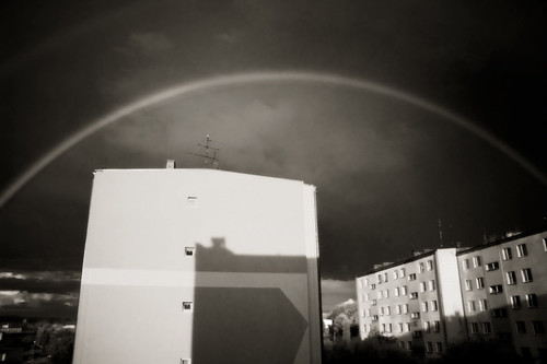 Rainbow over Pajeczno