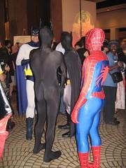 Dragon*Con 2006 - Spider-Man and Batman (T'Chall) Tags: atlanta fiction comics spiderman 2006 science convention batman dragoncon