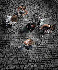Students from above (Nanaki) Tags: students bike student d70s fromabove bergen uib sykkel universitetetibergen infomedia stavelin brostein universityofbergen eirikstavelin