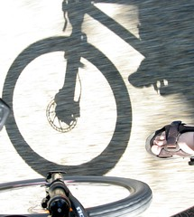circling shadow (Pierre Metivier) Tags: france bike europe mountainbike castelsarrasin canaldumidi moissac