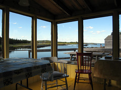 Paradise (livinginacity) Tags: travel sea summer vacation canada water design seaside paradise cottage views shack architectureincanada
