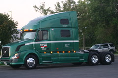 My truck (Jenni Reynolds-Kebler) Tags: show road trip truck volvo dallas texas roadtrip company 100views driver interstate 1000views 18wheeler truckshow dallastexas 2000views distributors