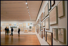 DRAWING GALLERY (t_a_i_s) Tags: nyc drawing moma galleries museumwatchers