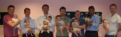 NCT Reunion - Dads and Babies - by Chris, Fiona, James, Ben, Lewis, Numpty & Bruce