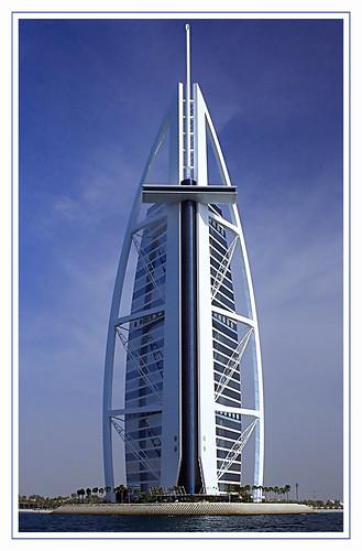 Burj Al Arab hotel in Dubai,