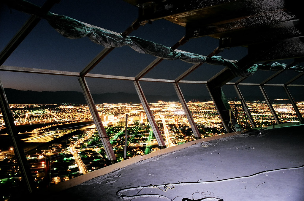 Stratosphere View At Night
