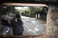 11--09-06--NPR_0005 (swifty_mcvey) Tags: summer hot reflection mirror walk perspective tired distance exhausted fatigued neilrobinson
