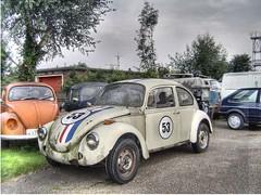 Herbie goes to Hingham HDR (Pete Sturman) Tags: vw volkswagen bravo norfolk beetle hdr herbie vwbug vwbeetle volkswagenbeetle hingham kkfav