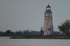 Pontchartrain Lighthouse (KoehlerColor) Tags: sunset lighthouse nikon louisiana d200 lakeponchatrain nikond200 capturenx nikoncapturenx
