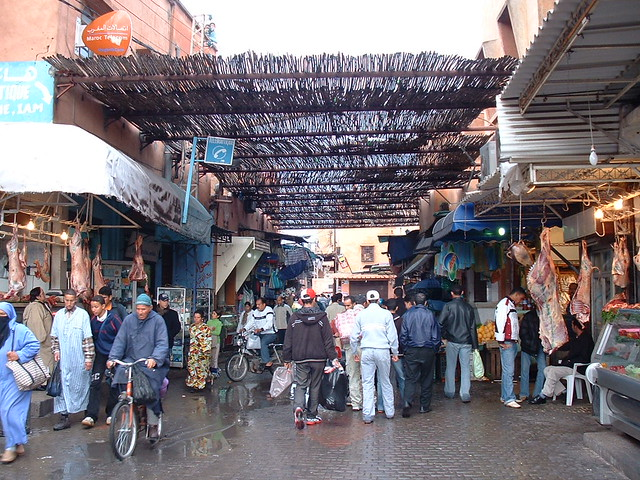 Marrakesh marketplace