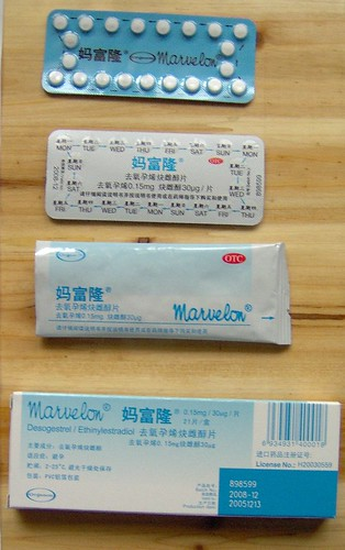 "FINDING BIRTH CONTROL IN CHINA: You can find a birth control pill, ""Marvelon ..."