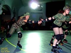 Z-Betties_Bosses_ZivKruger142 (Zeeev) Tags: sport women texas houston rollergirls skaters flattrack bayoucitybosses houstonrollerderby machetebetties