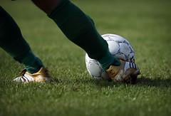 Perfect timing (brianpoulsen) Tags: canon ball denmark eos kick soccer 1d markiin eos1d top20sports skovlunde