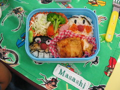 Anpanman Vs. Bikimon (vyxle) Tags: japan tokyo bento lunchbox anpanman masashi bikimon