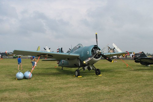 Warbird picture - Grumman F4F-3 Wildcat (NOT an FM2)