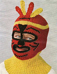Easy Balaclava   Knitting Bee