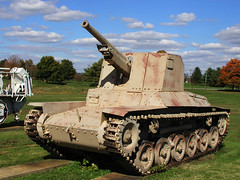 BI774 Type 1 Ho-Ni 75mm Artillery (listentoreason) Tags: history museum geotagged technology unitedstates military maryland places worldwarii armor artillery groundforces