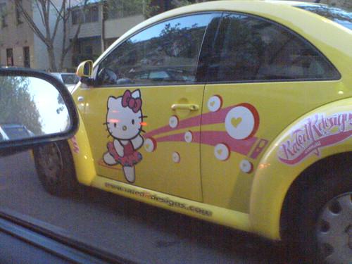 Hello Kitty VW Beetle ハローキティー・デコカー