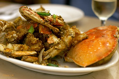 salted baked crab (mochiland) Tags: jalapeno saltedbakedcrab choppedgarlic crackedpeppercorns