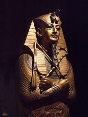 Replica of King Tutankhamun