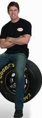 Carl Edwards sitting on tire - Henkel website (mbennett - Carl Edwards) Tags: racing nascar henkel carledwards