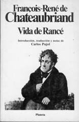 François-René de Chateaubriand, Vida de Rancé