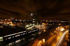 Moving on... (jkspepper) Tags: uk longexposure light night canon manchester 350d efs 1022mm lighttrail lightpaint interestingness209 i500