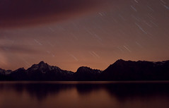 Star Trails Over Tetons (Fort Photo) Tags: longexposure sky nature night dark stars landscape nikon nightscape nocturnal d70 nps 2006 jackson astrophotography fv10 astronomy wyoming tetons nocturne afterdark startrails grandtetonnationalpark specnature nikonstunninggallery bestnaturetnc06