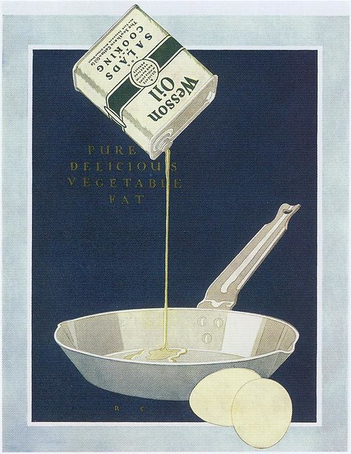 Wesson Oil ad, 1921