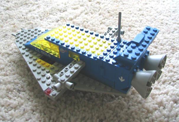 Space Cruiser - Rear Side by heath_bar