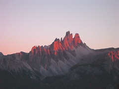 Sunset @ Ampezzo Dolomites